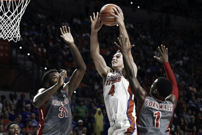 NCAA Basketball: Florida routs Gardner-Webb 116-74 behind Koulechov's record-breaking night