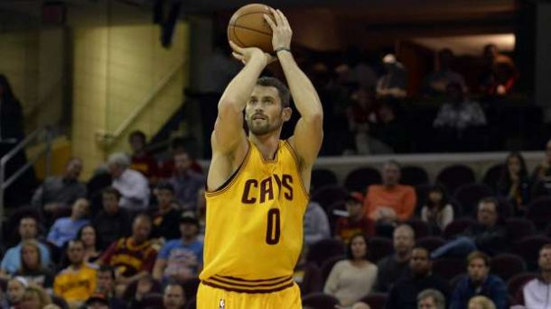 """Report: Kevin Love """"Seriously Considering"""" Opting Out This Summer And Could Join Lakers"""