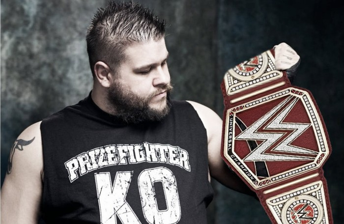 Kevin Owens ha sido campeón en la mayoría de días que lleva en WWE