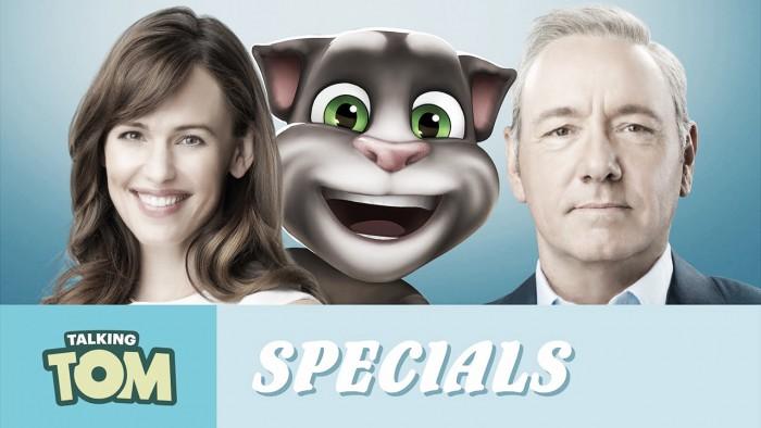 """Aplicativo """"Talking Tom"""" faz parceria com filme Virei um Gato, com Kevin Spacey"""