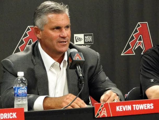 Arizona Diamondbacks Fire General Manager Kevin Towers