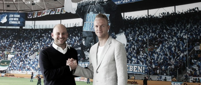 Kevin Vogt é o novo reforço do Hoffenheim por quatro temporadas