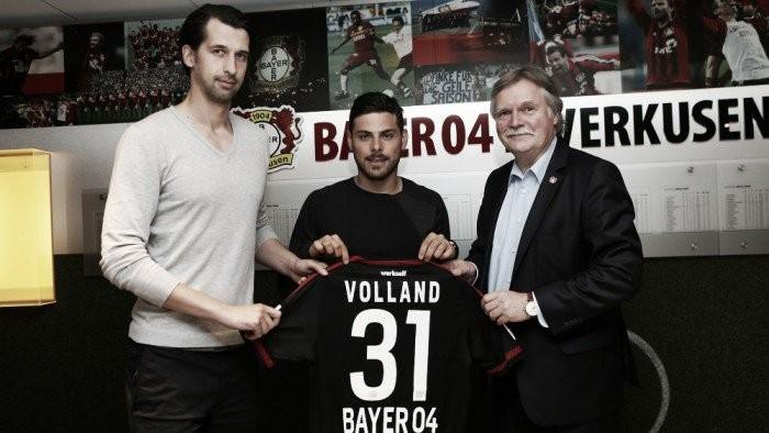 Meia-atacante Kevin Volland assina com Bayer Leverkusenpor cinco temporadas