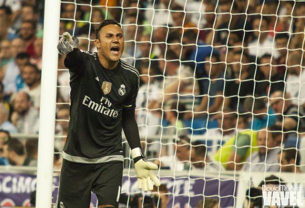 """Keylor Navas: """"Ser jugador del Real Madrid me hace muy feliz"""""""