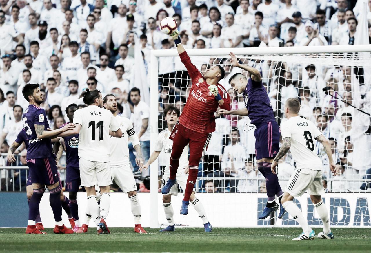 El Real Madrid vuelve a dejar la portería a cero