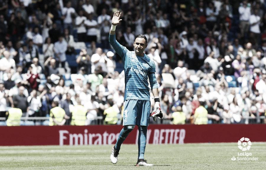 Puntuaciones por posición: portería del Real Madrid