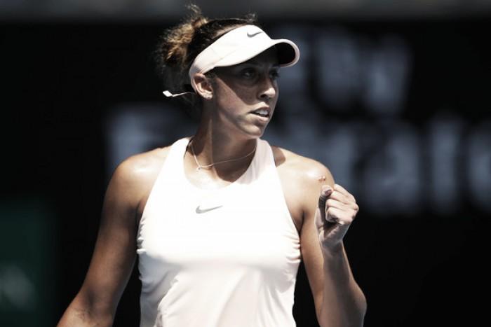 La 'tapada' Madison Keys ya está en octavos de final
