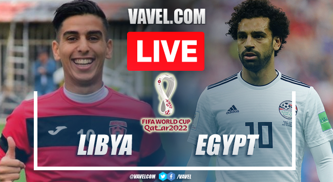 Goals and Highlights: Libya 0-3 Egypt in 2022 World Cup Qualifiers