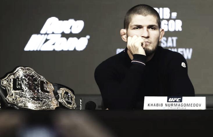 Khabib no tendrá en su esquina a su padre en UFC 229
