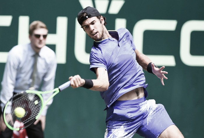 ATP Halle: Karen Khachanov books place in quarterfinals via Kei Nishikori retirement