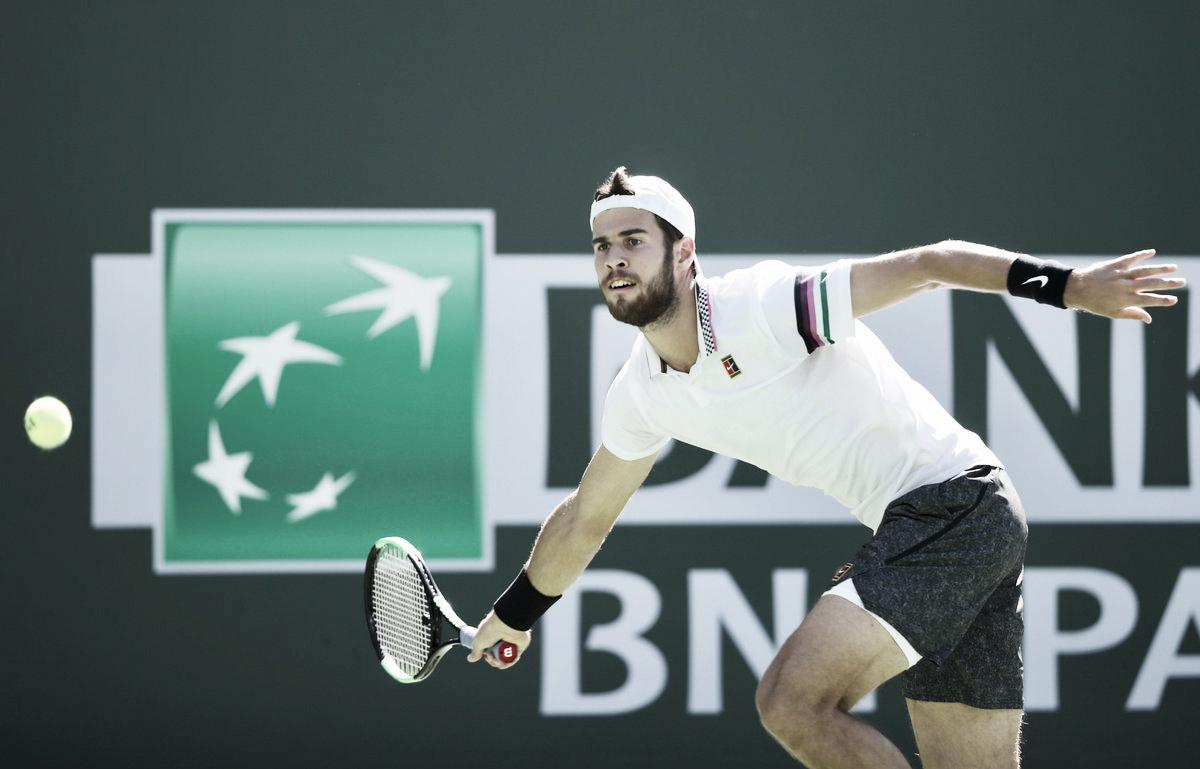 Khachanov volta a superar Isner e desafia Nadal em Indian Wells