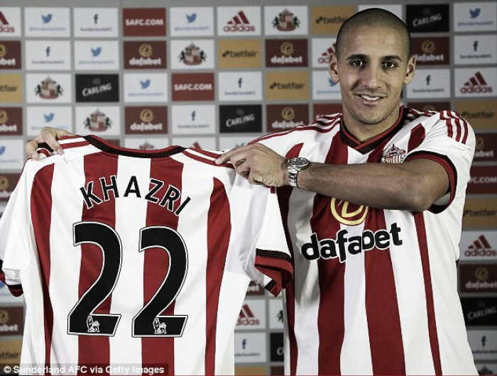 Sunderland's Wahbi Khazri wants to do talking on the pitch to avoid relegation heartache