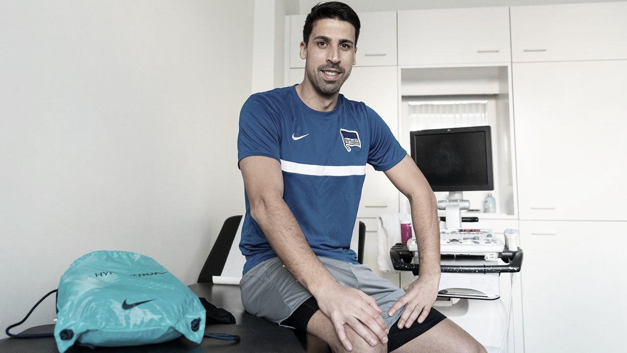 Aos 33 anos, Sami Khedira retorna à Alemanha para jogar no Hertha Berlin