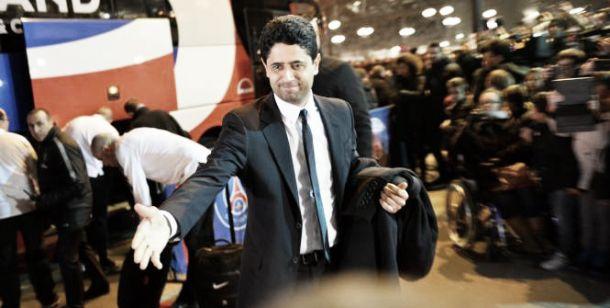 """Nasser Al-Khelaifi: """"Estoy orgulloso de nuestro entrenador"""""""