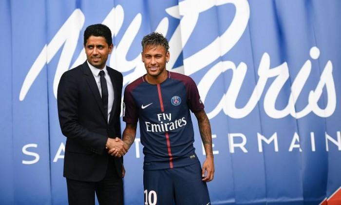 """Paris Saint-Germain, Al Khelaifi: """"Neymar il calciatore più forte del mondo, è qui per il progetto non per soldi"""""""