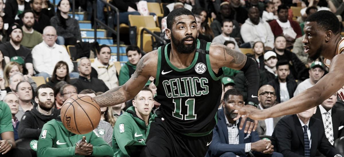 NBA, Kyrie Irving fuori per il resto della stagione