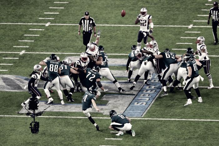 Los Eagles se imponen a la dinastía de los Patriots