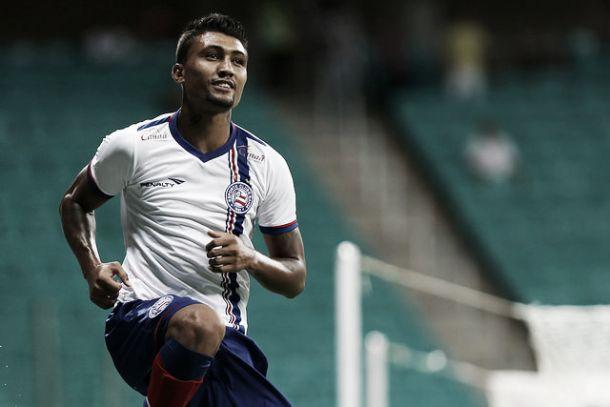 Bahia vence Campinense com gol de Kieza e se classifica às semifinais da Copa do Nordeste