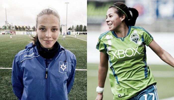 KIF Örebro sign Anna Björk Kristjánsdóttir and Veronica Perez