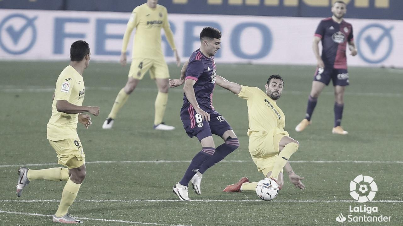 Villarreal 2-0 Real Valladolid: cuesta abajo y sin frenos