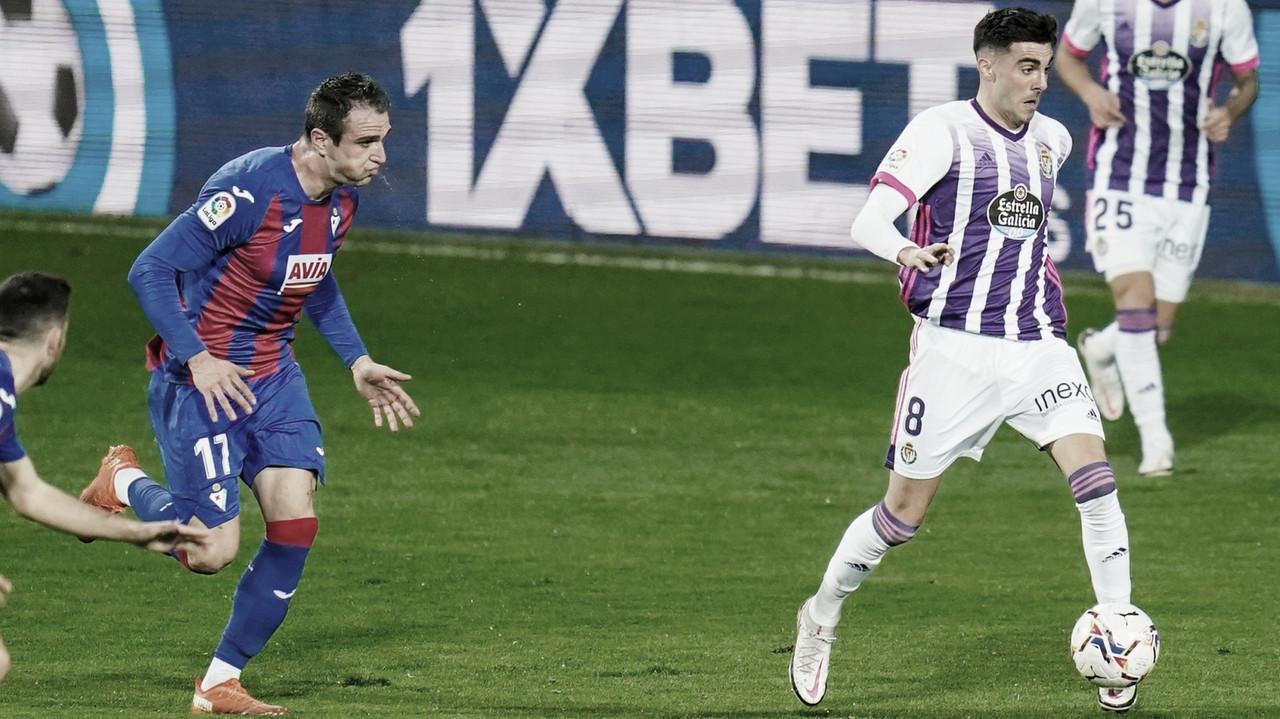 SD Eibar 1-1 Real Valladolid: un punto que no sabe a nada