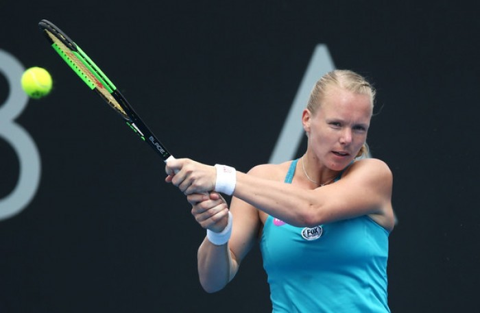 WTA Hobart, inciampa la Bertens. Tsurenko batte Rogers, Niculescu ok