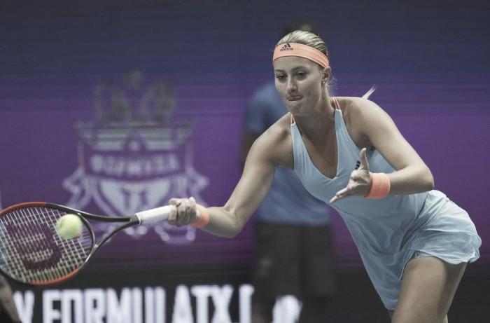 WTA Saint Petersburg: Kristina Mladenovic overcome Natalia Vikhlyantseva to reach biggest final of her career