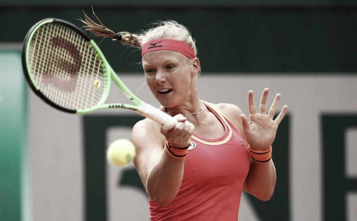 French Open: Kiki Bertens eases past Ajla Tomljanovic