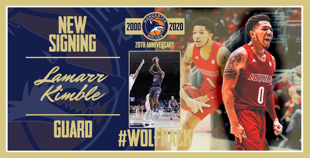 Worcester Wolves Sign Rookie Guard Lamarr 'Fresh' Kimble