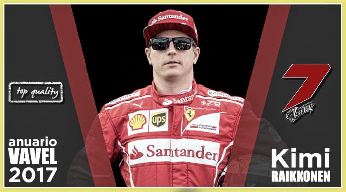 Anuario VAVEL F1 2017: Kimi Raikkonen, firme y resistente