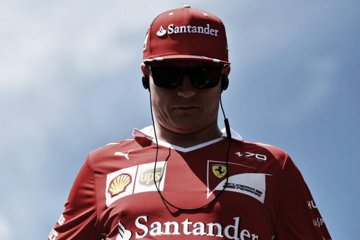"""Kimi Raikkonen satisfecho con la segunda posición: """"Es lo mejor para el equipo"""""""