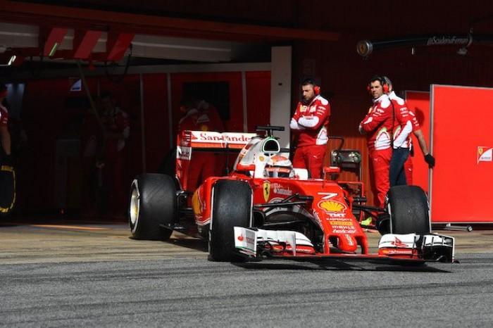 Test F1, Raikkonen chiude al comando