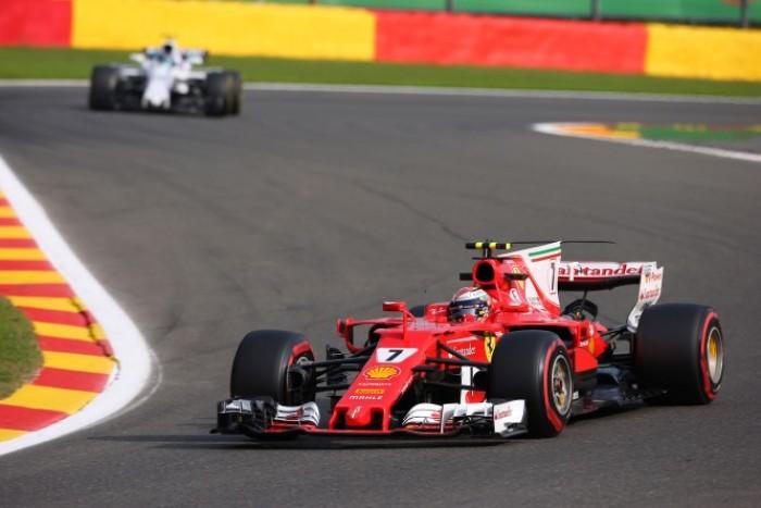"""F1, GP del Belgio - Raikkonen in grande spolvero: """"A Spa mi diverto sempre"""""""