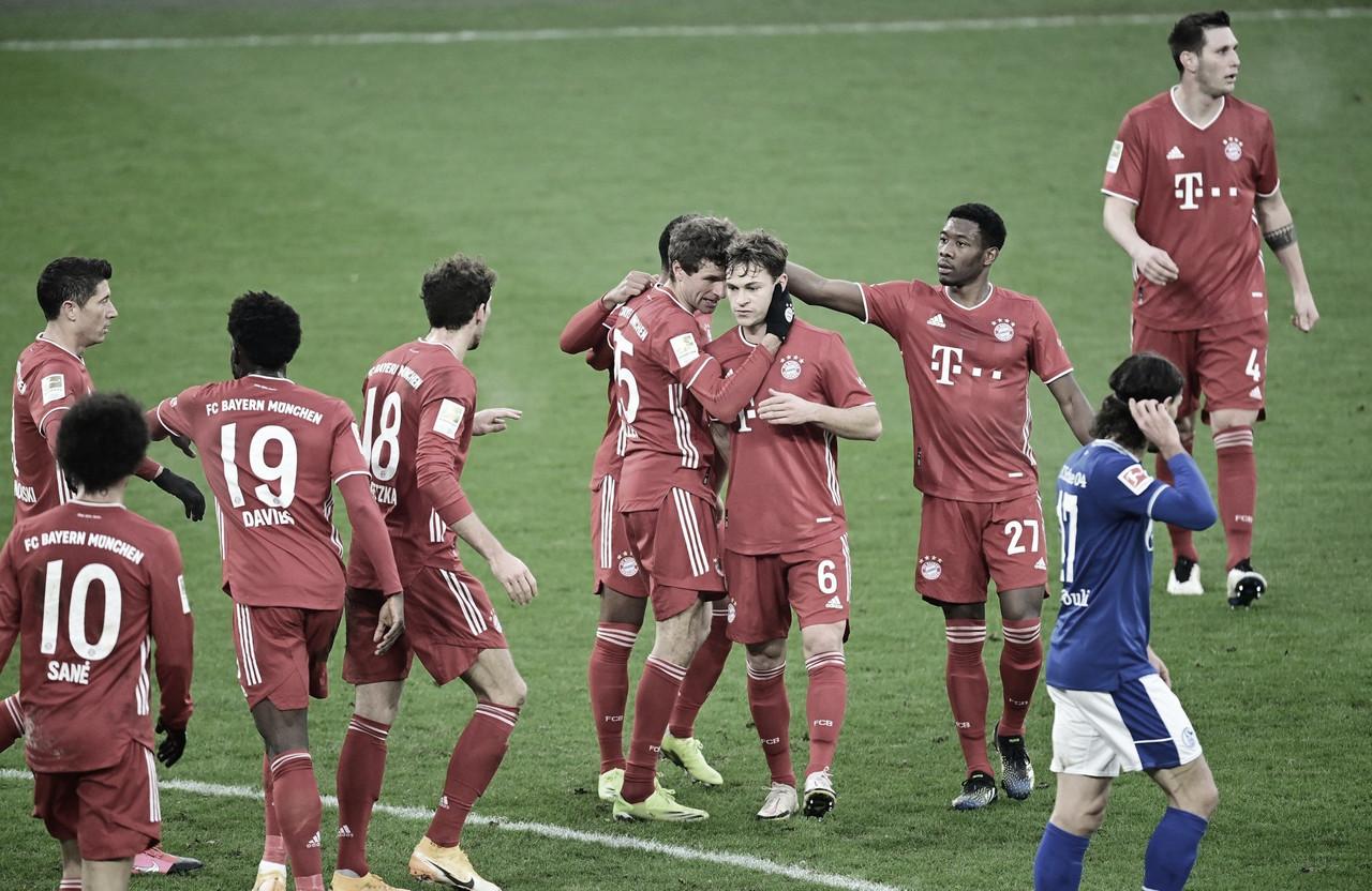 Schalke 04 0 a 4 Bayern (FC Bayern / Divulgação)