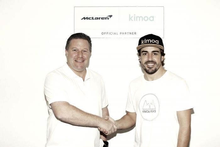 Kimoa, la marca de ropa de Fernando Alonso, nuevo patrocinador de Mclaren