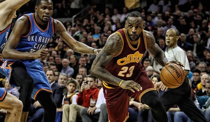 De la mano de LeBron, Cleveland aplastó a Oklahoma