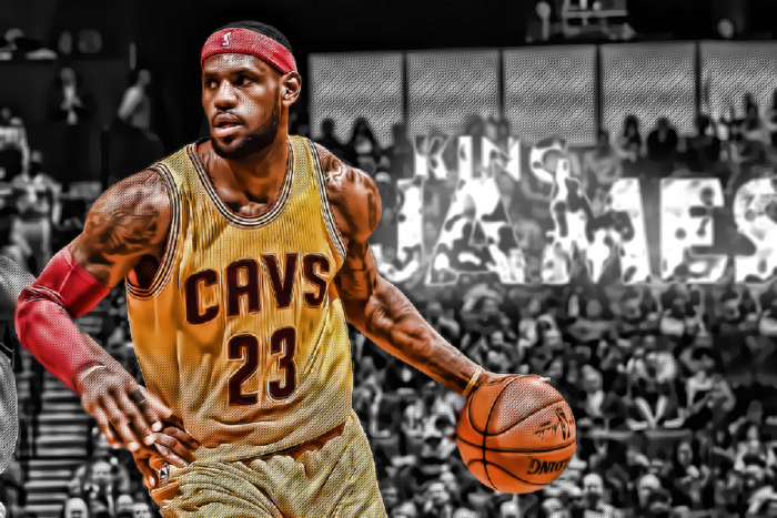 """LeBron """"The king of the records"""" James"""