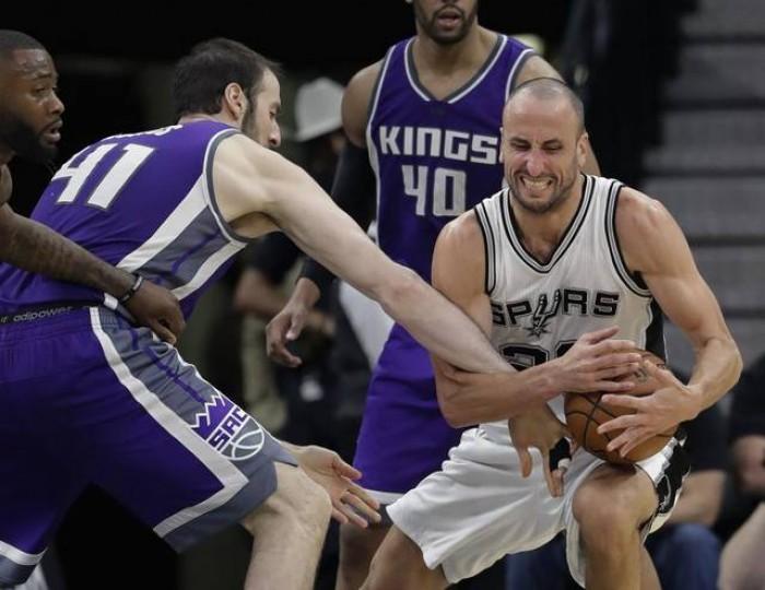 Gran partido de los Spurs sobre Kings