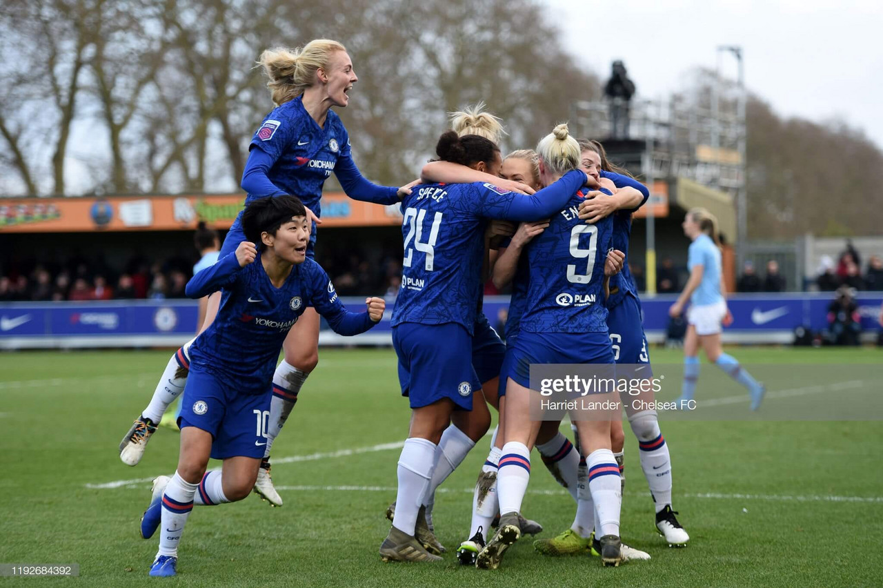 Women's Super League: Chelsea 2-1 Manchester City