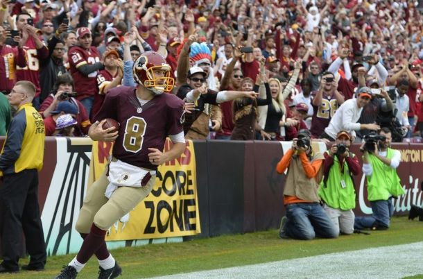 'Captain Kirk' Cousins Pilots Washington Redskins To Last-Minute Win Over Tampa Bay Buccaneers