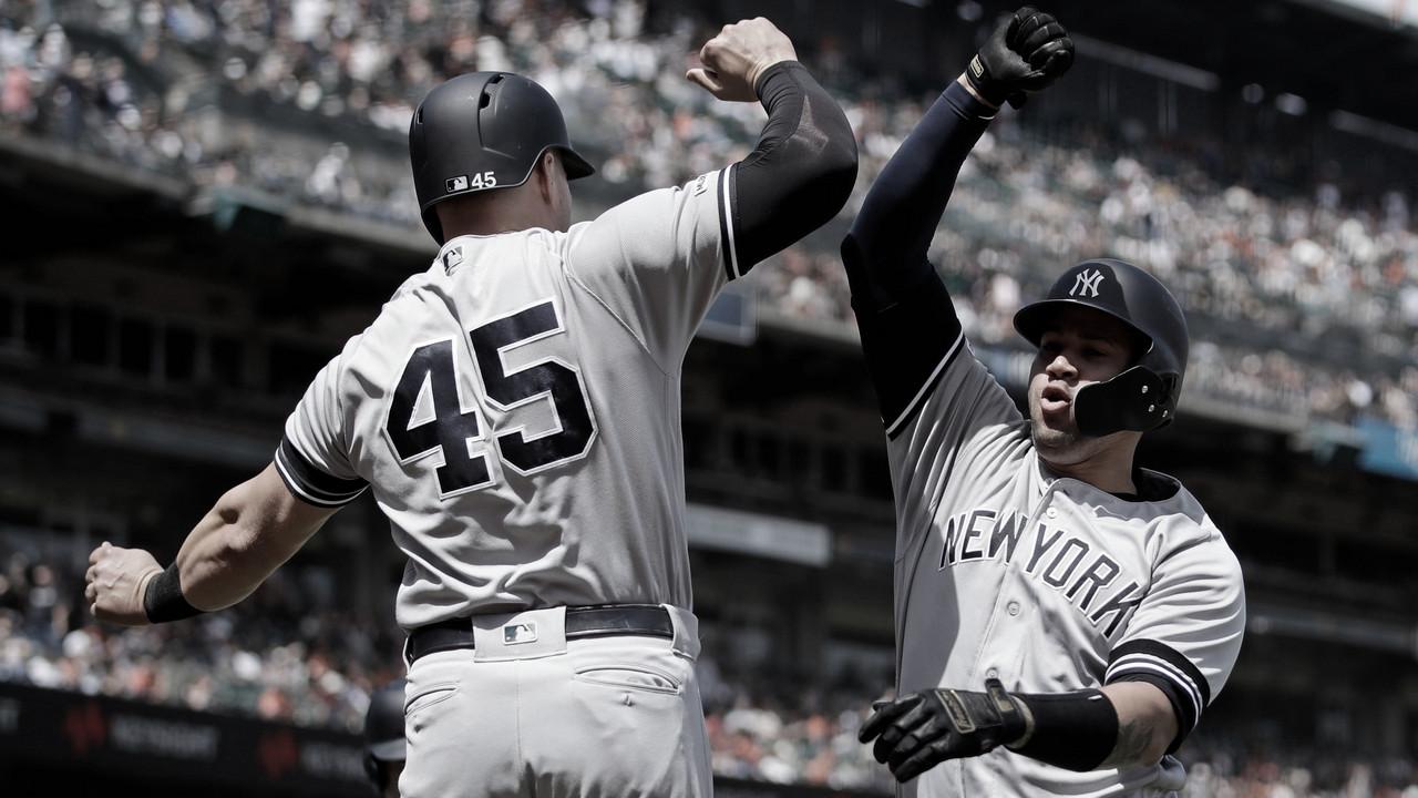 Los Yankees barren a San Francisco