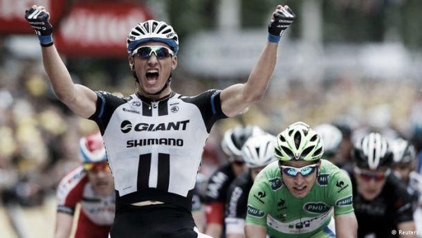 Tripla de Marcel Kittel anima arranque do Tour de France