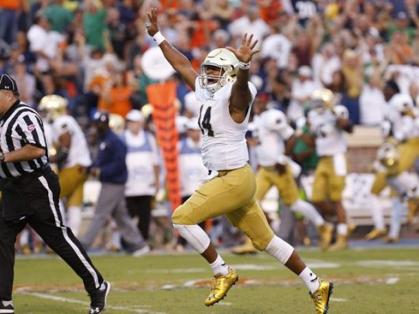 Golson To Zaire To Kizer: Where Would Notre Dame Be Without Their Third-String Quarterback?