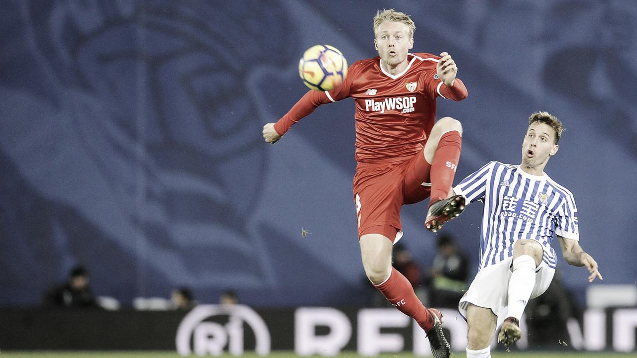 Resumen Real Sociedad vs Sevilla en LaLiga Santander 2018 (0-0)
