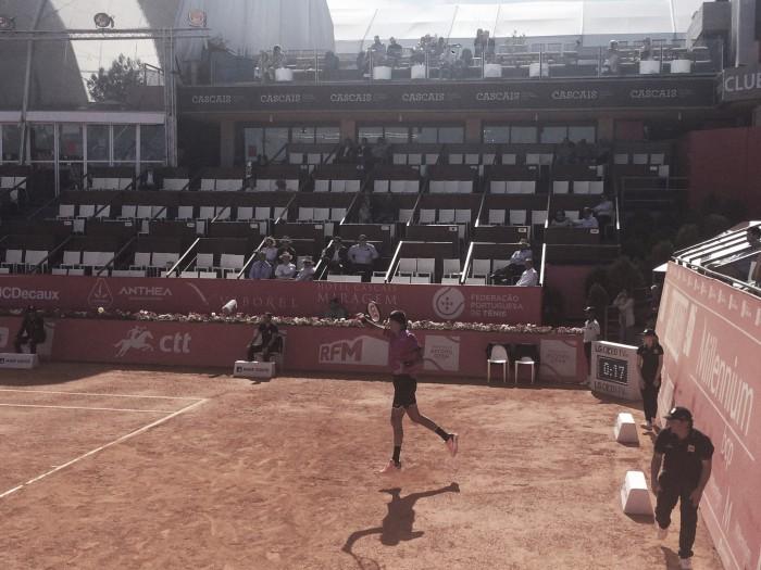 ATP Estoril: Juan Martin del Potro disarms Yuichi Sugita