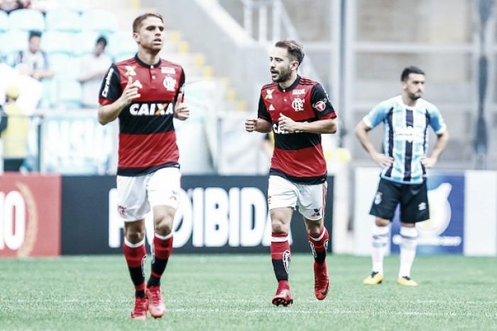Autor do gol rubro-negro, Éverton Ribeiro lamenta virada relâmpago sofrida pelo Flamengo