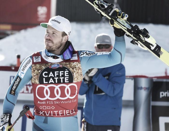 Sci Alpino - Kvitfjell, discesa: Jansrud batte Fill e si avvicina alla Coppa