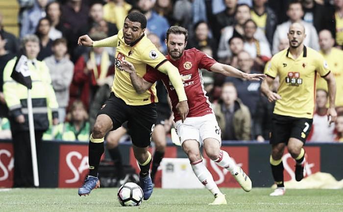Manchester United busca terceira vitória seguida diante do embalado Watford