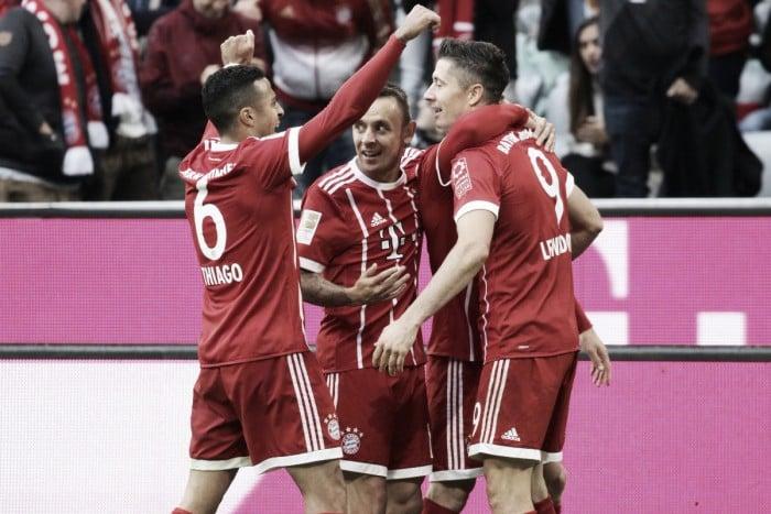 Bundesliga - Doppio Lewa, Muller e Robben: il Bayern cala il poker contro il Mainz