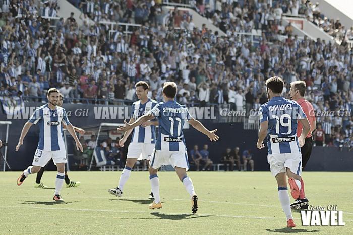 Fotos e imágenes del Leganés 1 - 2 Valencia, jornada 6 de Liga